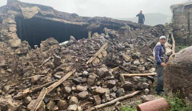 Bingöl depreminden çarpıcı kareler