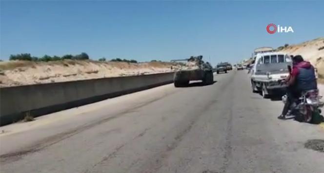 M4 karayolunda devriyede Rus askeri aracına saldırı