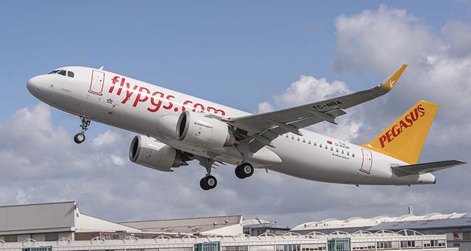 Pegasus yurt dışı uçuşlarına başlıyor