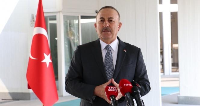 Bakan Çavuşoğlu'dan Yunanistan'a Doğu Akdeniz çağrısı: 'Cesareti varsa masaya otursun'