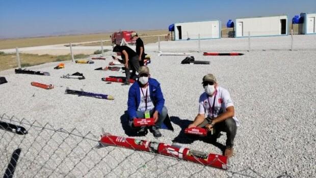 Düzce'nin Roket Takımı'ndan Teknofest'te büyük başarı