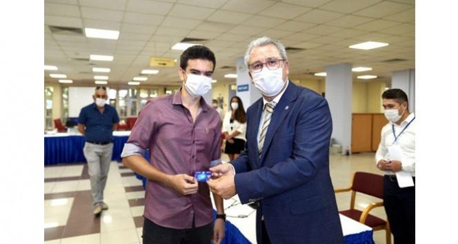 Geleceğin doktoru pandemiyi fırsata çevirdi