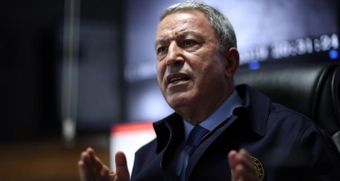 Milli Savunma Bakanı Hulusi Akar'dan 'Doğu Akdeniz' açıklaması!