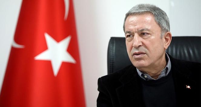 Milli Savunma Bakanı Hulusi Akar'dan Doğu Akdeniz'de mesajı