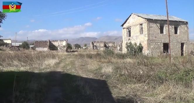 Ermenistan işgalinden kurtarılan Daşkesen köyü görüntülendi