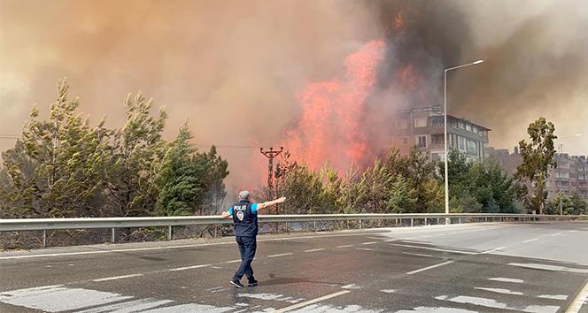 Hatay'daki orman yangını kontrol altına alındı