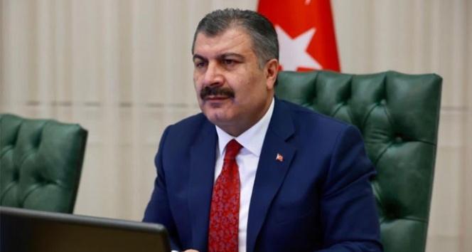 Bakan Fahrettin Koca 6 ilin sağlık müdürüyle görüştü