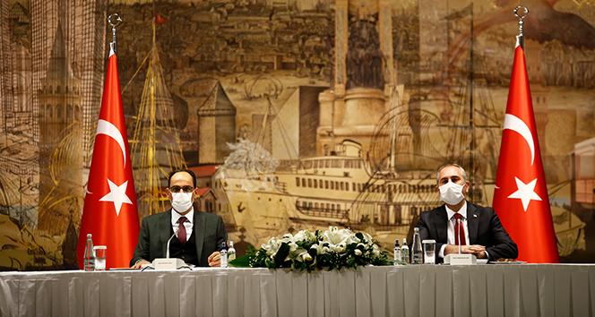 Cumhurbaşkanlığı Sözcüsü Kalın ve Bakan Gül dini azınlık temsilcileriyle bir araya geldi