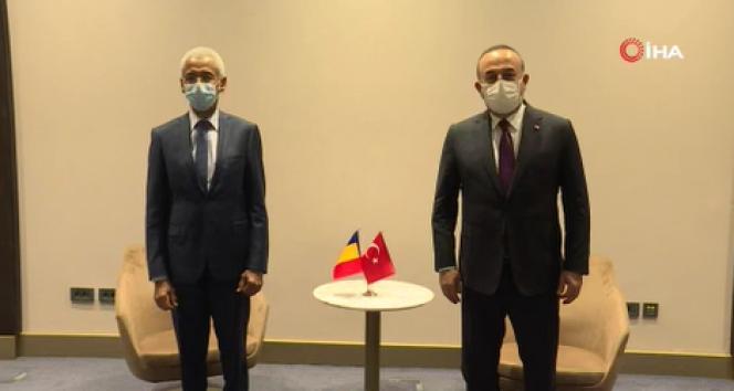 Dışişleri Bakanı Çavuşoğlu, Çad Dışişleri Bakanı Amine Abba Siddick ile görüştü