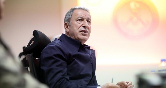 Milli Savunma Bakanı Akar: 'Türk ticari gemilerinin güvenliği için tedbirler üzerinde çalışıyoruz'