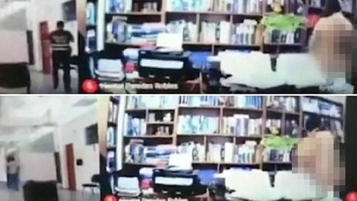 Avukat online duruşmada kamerayı açık unuttu! Müvekkiliyle cinsel ilişkiye girerken yakalandı!