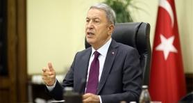 Bakan Akar: 'Harekat ile PKK'nın sözde üst düzey yönetiminde ciddi panik var'