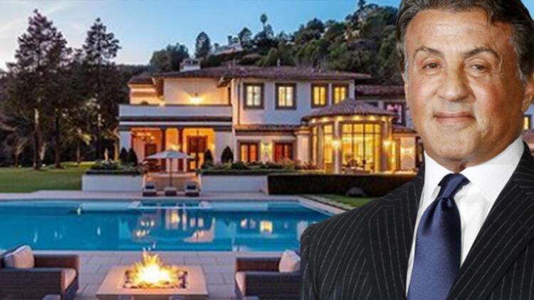 Sylvester Stallone lüks villasını satıyor! Fiyatı dudak uçuklattı