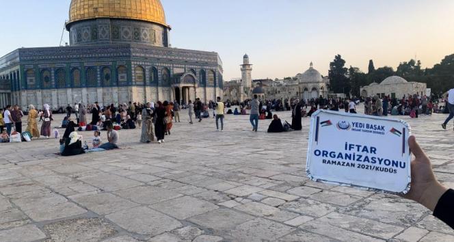 İsrail'in saldırısı altındaki Filistin'e Türkiye desteği