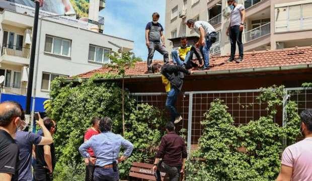 İzmir'de izinsiz gösteride 20 gözaltı