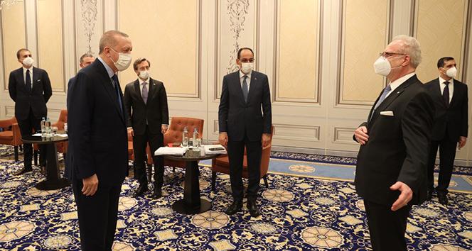 Cumhurbaşkanı Erdoğan'dan NATO zirvesi öncesi bir dizi önemli görüşmeler