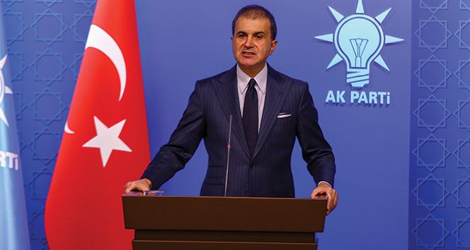 """AK Parti Sözcüsü Çelik: """"Mavi vatanda her türlü bedeli öderiz, her türlü mücadeleyi veririz"""