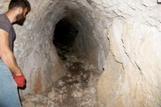 Muğla'da 60 metre uzunluğunda tonozlu tünel bulundu
